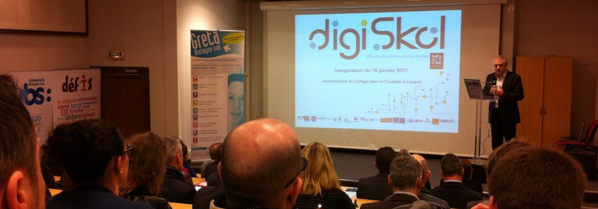 Inauguration de Digiskol